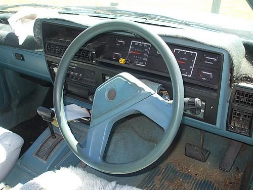 Holden VK Vacationer Interior
