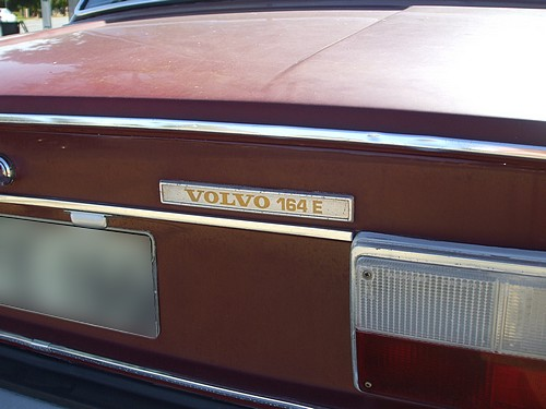 Volvo 164E with fuel injection