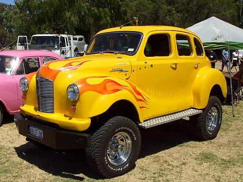 Austin 4WD based on Toyota Landcruiser