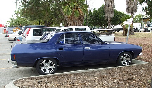 XB Falcon custom 4 door ute