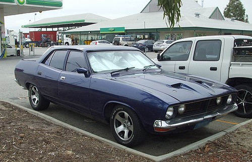 XB Falcon  ute with 4 doors