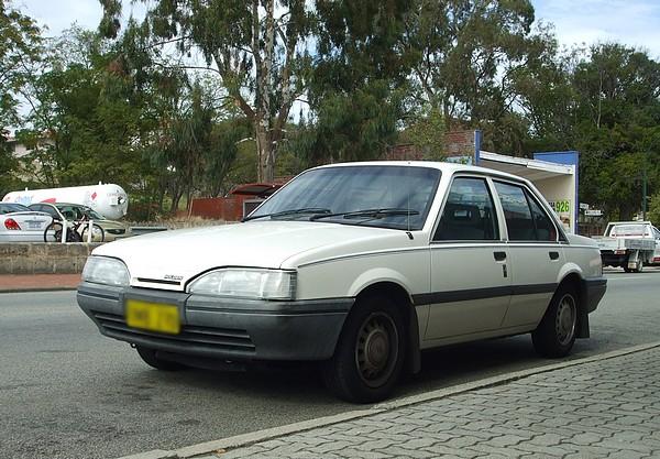 White 1988 Holden JE Camira SL