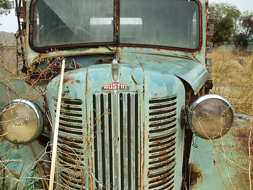 Abandoned Austin Truck from the 1940's