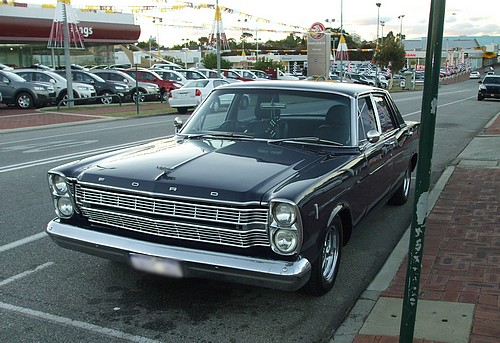 Black 1966 Ford Galaxie