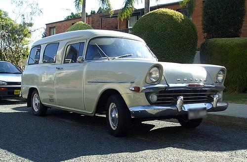 1960 Grey Holden FB Panel Van