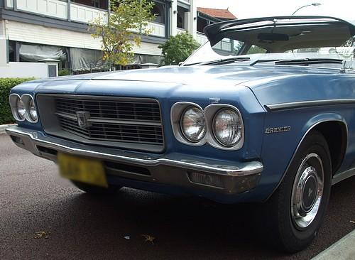 1971 HQ Holden Premier in blue