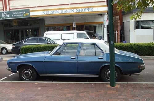 1971 Holden HQ Premier in blue