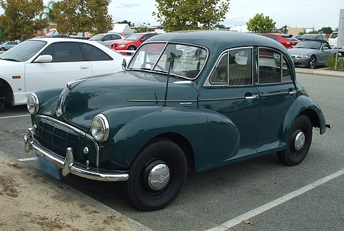 Morris Minor Series II from mid 1950's