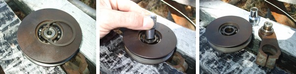 Range Rover Classic tensioner pulley