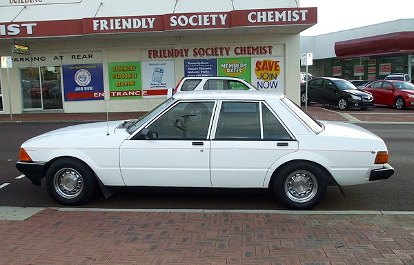 White 1979 XD Ford Falcon
