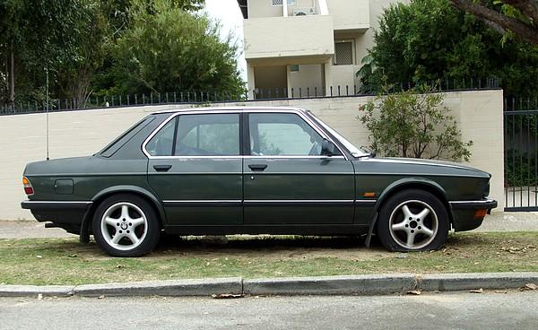 BMW 535i 1980's model