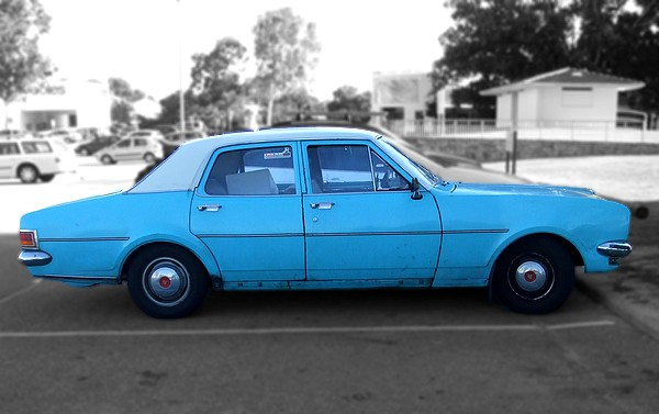 Blue 1970 Holden HG Kingswood