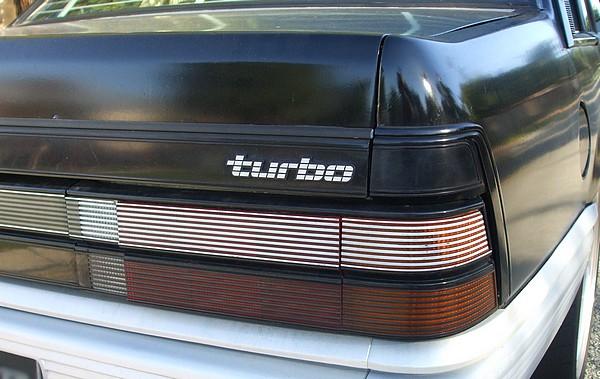 Holden VL Commodore Calais Turbo