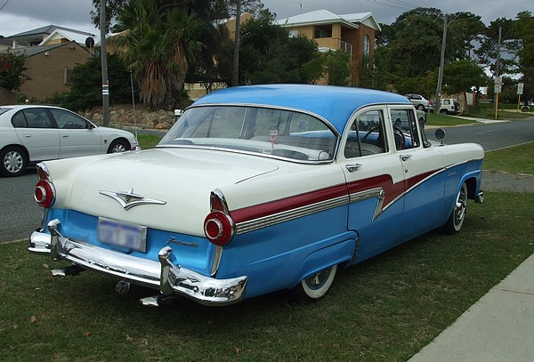 1958 Ford Customline Fordomatic