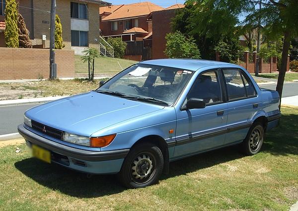 1991 Mitsubishi Lancer GL Sedan