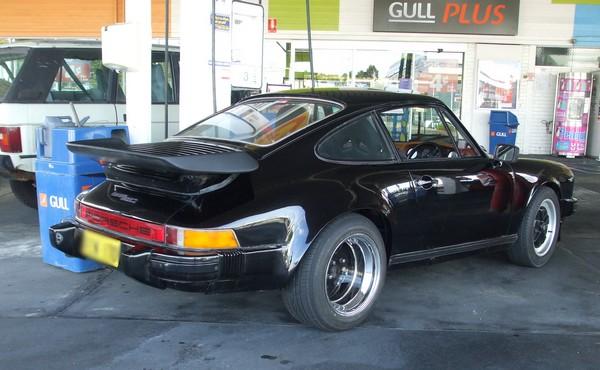 Black 1980 Porsche 911SC