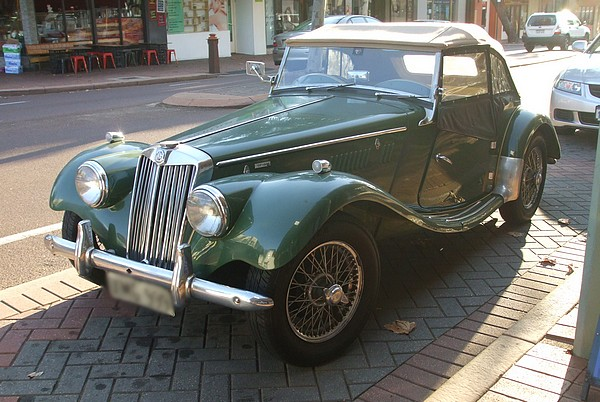 1955 MG TF 1500 Midget