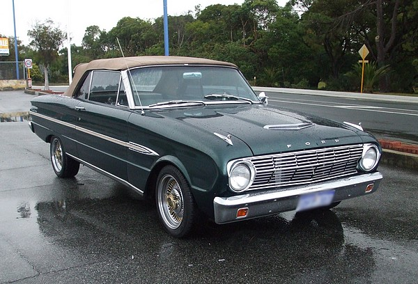 1963 Ford Falcon Futura Convertible1