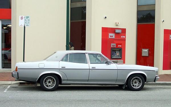 1978 Ford P6 LTD silver
