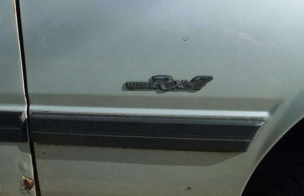 Badge Mazda RX7 SA22C