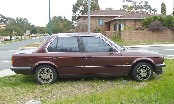 1985 BMW 323e