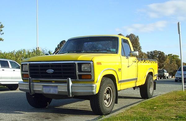1984 Ford F100 XLT