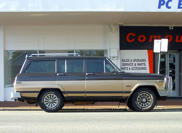 1985 Jeep Cherokee 4x4 Limited Wagon