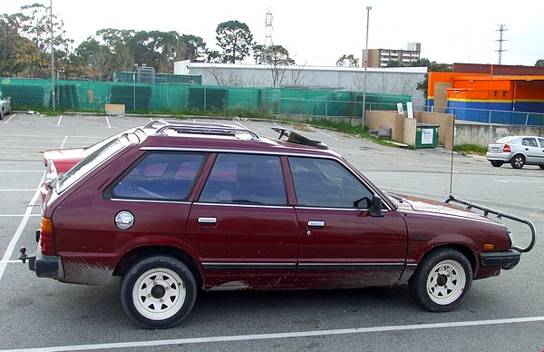 1984 Subaru Leone 5 door Wagon