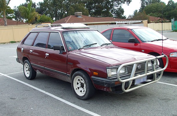 1984 Subaru Leone 5 door Wagon