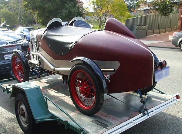 1929 Triumph Super 7 Imp Number 28