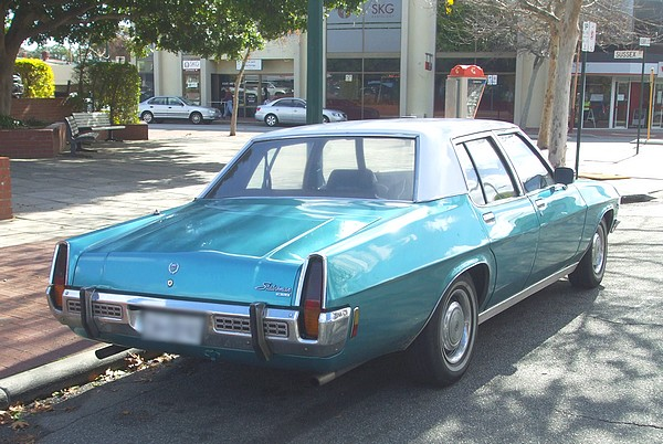 1973 Holden HQ Statesman DeVille