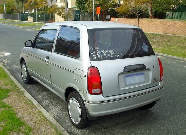 2000 Daihatsu Cuore L701 silver