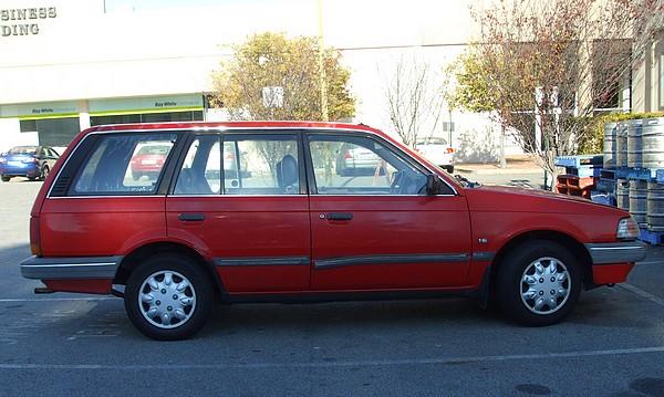 1988 KE Ford Laser GL Wagon