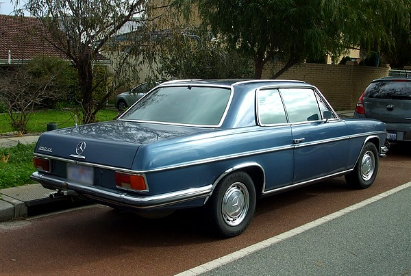1972 Mercedes 250CE Coupe