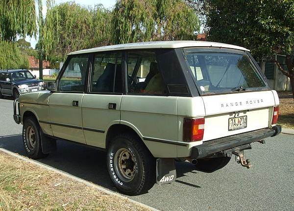 1985 Range Rover