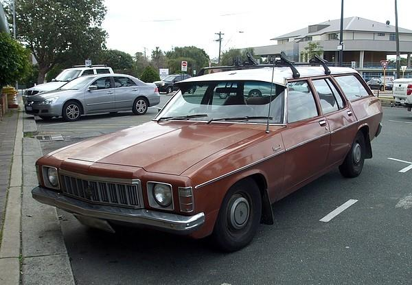 Holden HX Kingswood Station Wagon 4.2 Litre