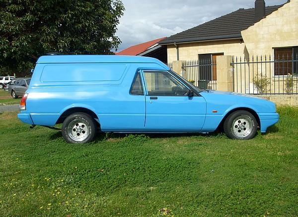 Ford Falcon XE Panel Van