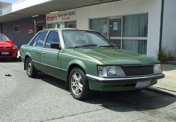 Green VH Holden Commodore