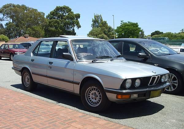 Silver BMW 528i