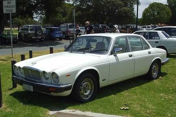 White Jaguar XJ6