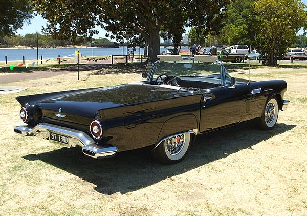 1957 Ford Thunderbird Convertible black