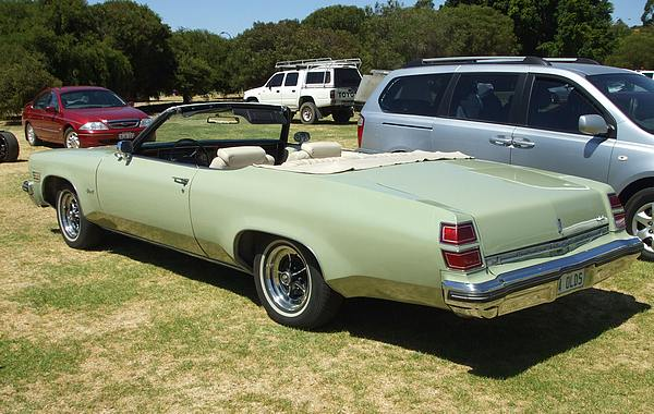 1974 Oldsmobile Convertible