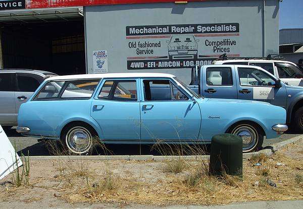 Hg Holden Station Wagon Perfect Restoration