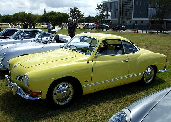 Yellow Volkswagen Karman Ghia