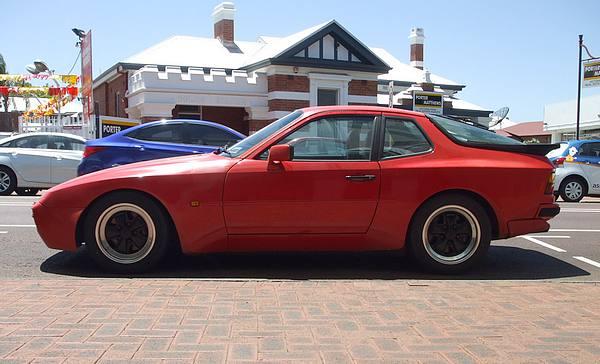 Red Porsche 944 Turbo