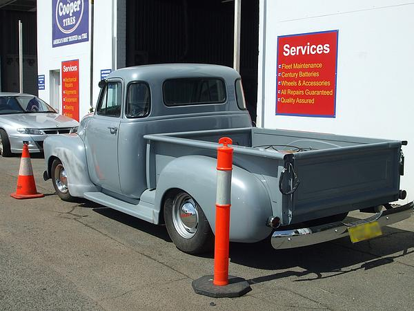 1954 Chevrolet Pickup Grey