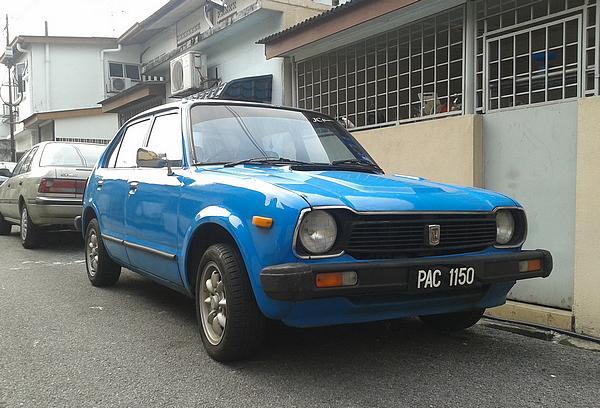 Honda Civic 1970's model in Malaysia