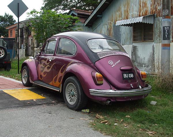 VW 1300 Beetle in Malaysia