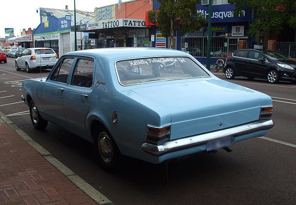 Light blue Holden HT Kingswood