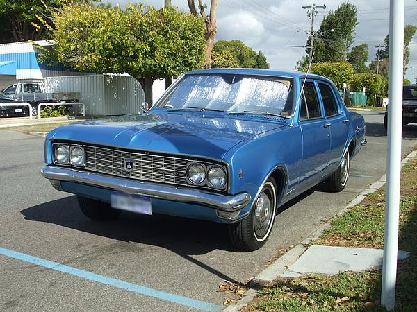 Holden HT Premier restored
